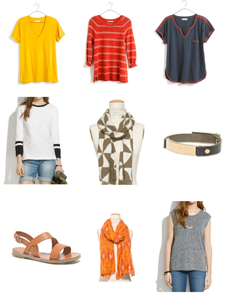 Madewell purchases